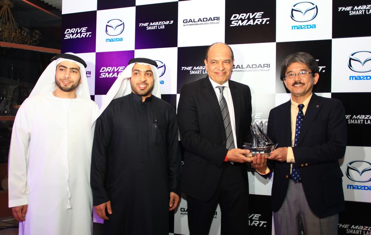 Galadari Automobiles launches the 2015 Mazda3 in the UAE