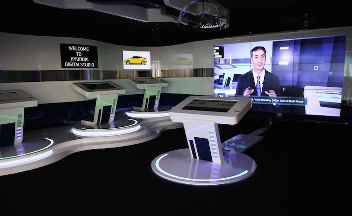 Hyundai Opens Digital Showroom In Dubai
