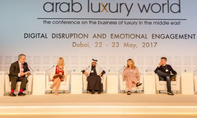 Panel discussion at Arab Luxury World 2017