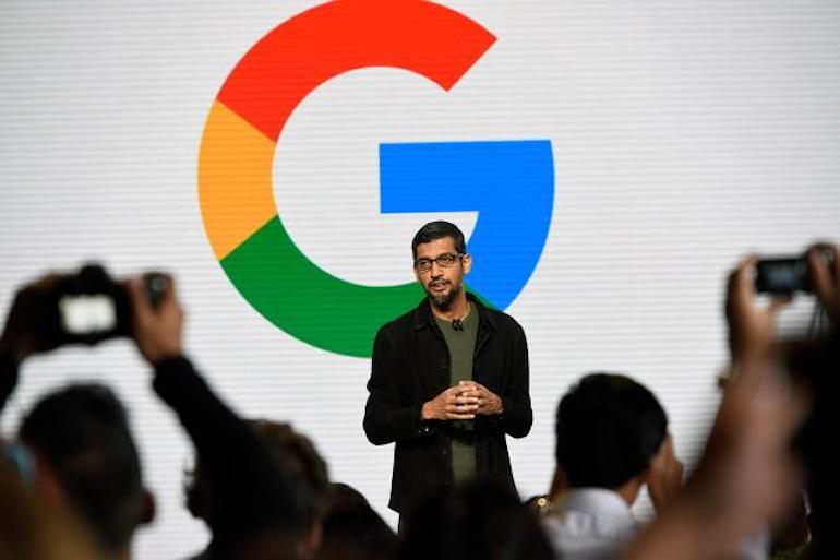 Google CEO Sundar Pichai. Credit: Michael Short/Bloomberg
