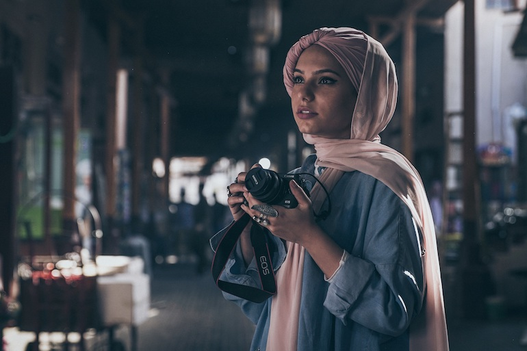 Haifa Beseisso partners with Canon for Live for the Story campaign