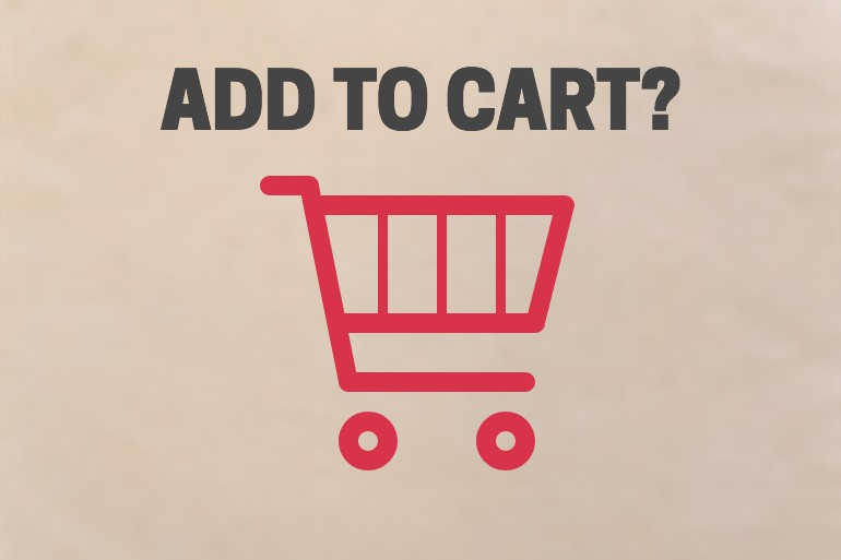 ADD TO CART E-COMMERCE