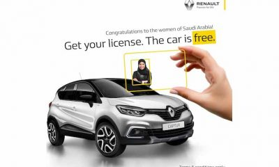 Renault Middle East celebrates Saudi women