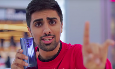 Huawei influencer ad