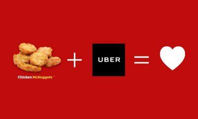 Uber McDonald's Valentine's