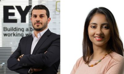 Samer Hamzi & Hanisha Lalwani - the new president and president-elect for the IABC GCC chapter